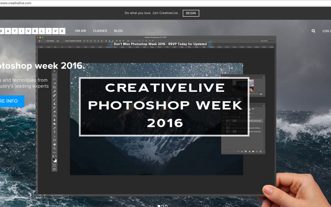 CreativeLive Photoshop Week 2016