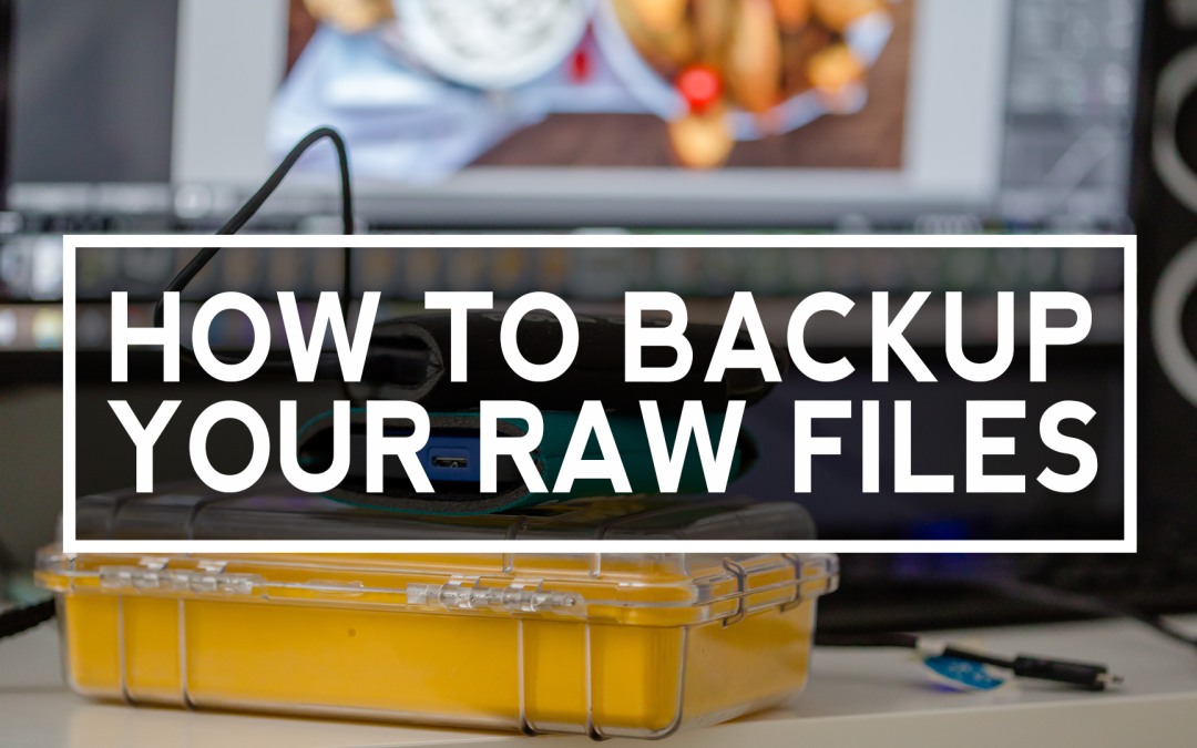 A simple way to backup your RAW files